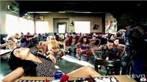Telephone Diner Scene Dance