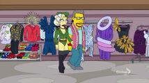 Lisa Goes Gaga Military uniform