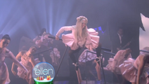 12-9-12 Performing Marry The Night on The Ellen DeGeneres Show 002