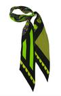 Rockins - ''Pine Cone Paisley'' super skinny scarf