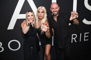 9-16-19 Arriving at Haus Laboratories launch party at Barker Hangar in Santa Monica 003