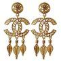 Chanel Vintage Gold Earrings