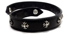 Chrome Hearts - Leather bracelet