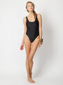 American Apparel - Black swimsuit