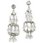 Hattie Carnegie - 1960s crystal earrings
