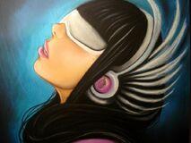 Gaga wing headphones by carlos0003