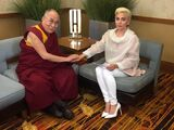 6-26-16 14th Dalai Lama discuss at JW Marriott Hotel in Indianapolis 001
