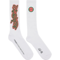 Chromatica White Socks