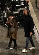 4-17-21 On the set of ''House of Gucci'' in Rome, Italy 008