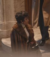 4-17-21 On the set of ''House of Gucci'' in Rome, Italy 007