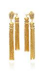 House Of Lavande - ''Sunset'' double tassel earrings