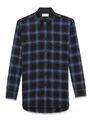 YSL - Blue plaid shirt