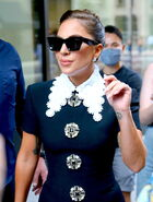 7-30-21 Leaving Her Hotel in NYC 003