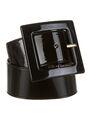 YSL - Patent leather belt