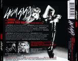 Lady Gaga-Judas (CD Single)-Trasera