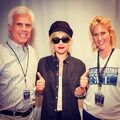 7-28-16 Backstage at 2016 Democratic National Convention in Philadelphia 002