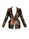 Alexander McQueen Fall 2010 RTW Silk Jacket