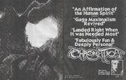 Chromatica Trifold LP fanzine 019