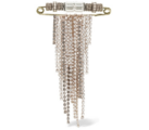 Lanvin - Safety pin brooches embellished with Swarovski crystals