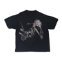 BTW10th motorcycle black shirt front