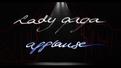 Lady Gaga applause card