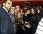 Jan.8 - Gaga Attends Bulls Annual Charity Dinner, Chicago
