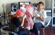 Franc Fernandez - Making of Meat Dress 1