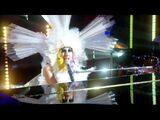 Lady GaGa Living Dress Brown Eyes