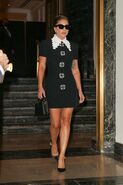 7-30-21 Leaving Her Hotel in NYC 001