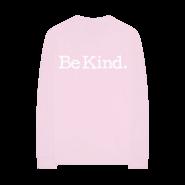 BTW Foundation - ''Be Kind'' pink long sleeve T-Shirt