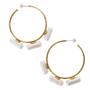 Lucy Folk - Pill popper hoop earrings