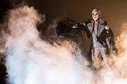 Lady Gaga Performing Million Reasons Live On The X Factor UK 2016 (4)