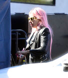 2-11-20 Arriving at Quixote Studios in West Hollywood 001