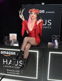 12-5-19 Arriving at The Grove for the Haus Laboratories pop-up shop launch in LA, USA