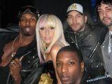 Lady Gaga and Vincent Asiel Hardison