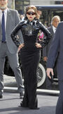 9-23-12 Arriving at Fame Launch Party at Sephora in Paris 005