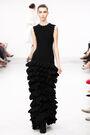 Azzedine Alaia Fall 2011 Ruffle Dress