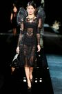 Dolce & Gabbana Fall 2009 RTW Longsleeve Tulle Dress