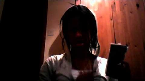 Aj Arkensaw Daughter of Jane the killer and Stepdaughter of Jeff the killer part