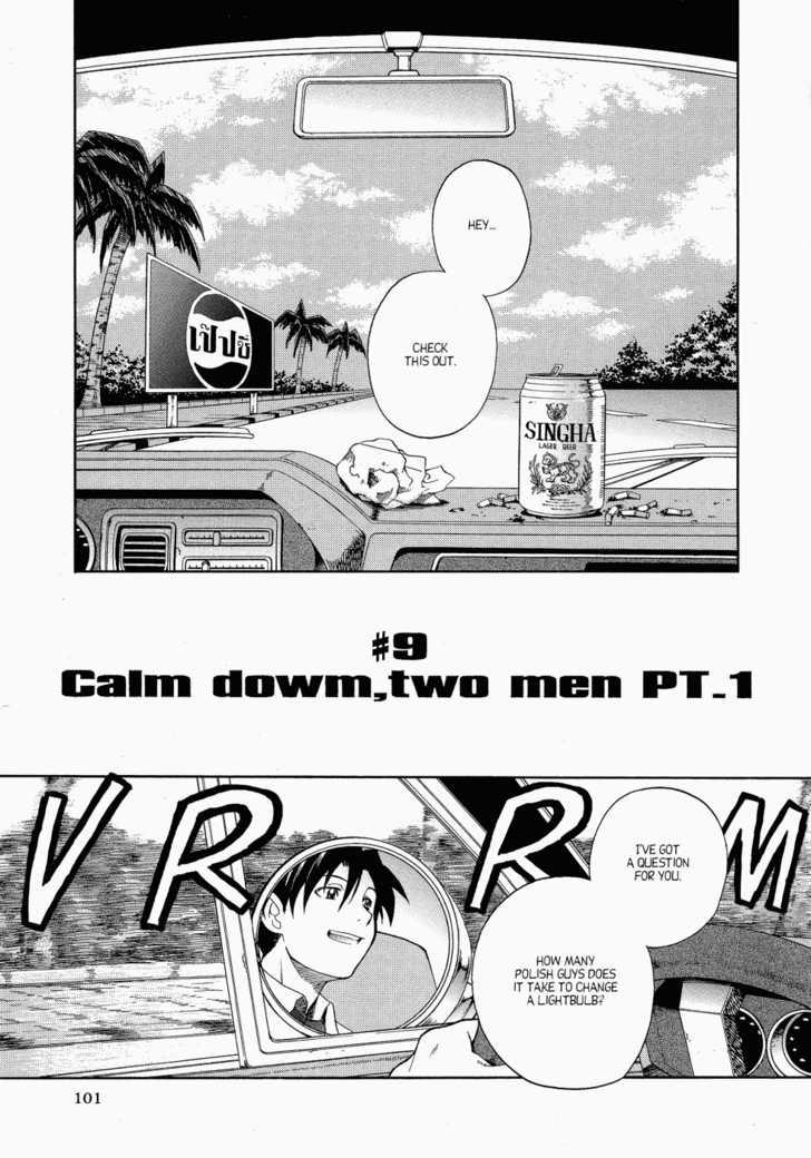 Calm down, two men Part 1
