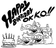 OK K.O.! 1 year birthday Dave Alegre