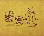 Enid KO and Rad Drawing TJ