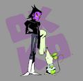 Venom and Fink Drawing Parker