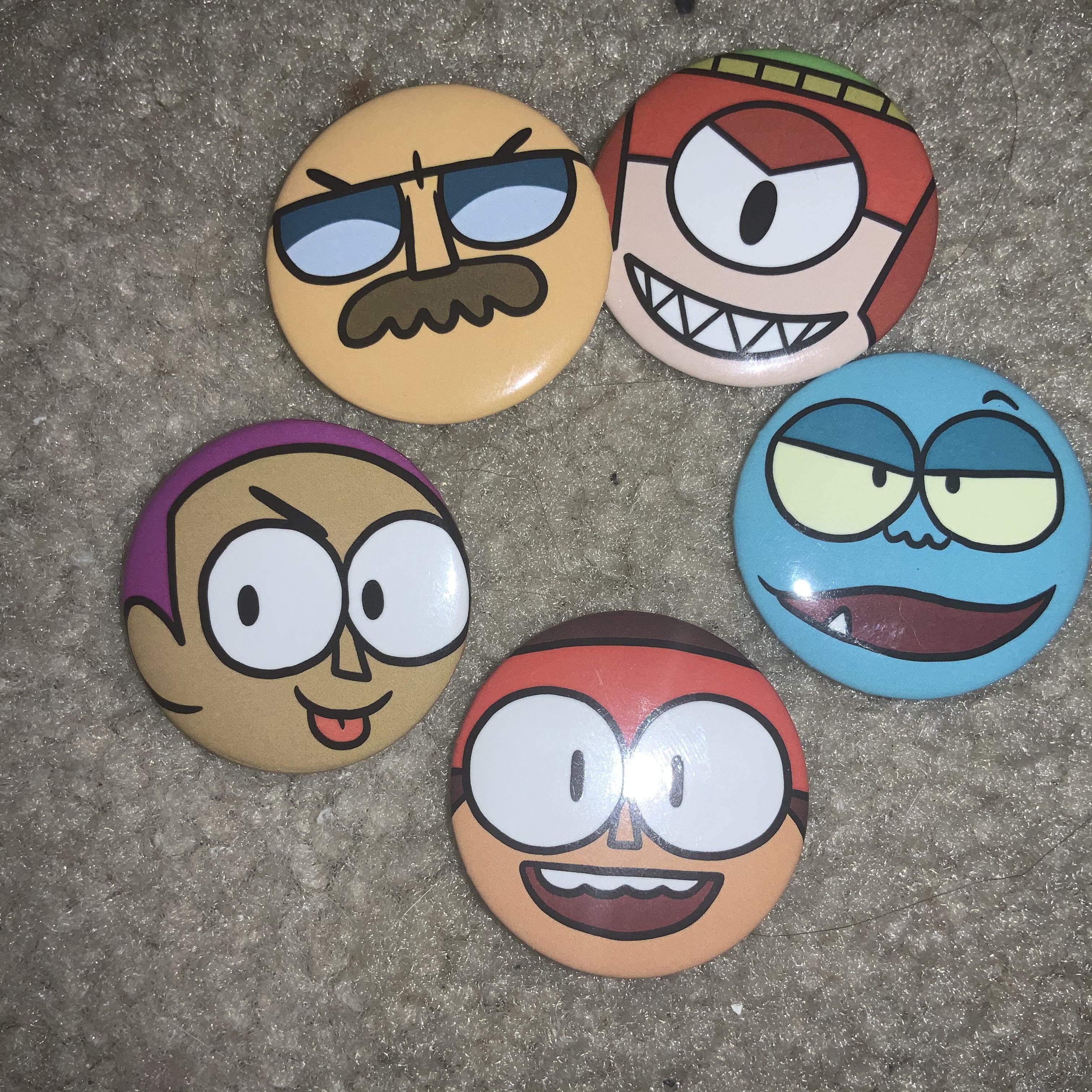 OK K.O. Buttons