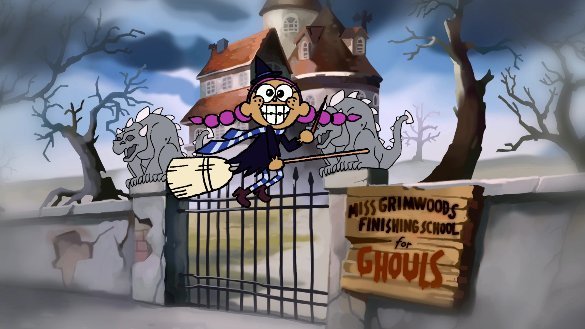Miss Grimwood's Finishing School for Ghouls