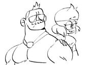 Mr. Gar and Carol Drawing DA