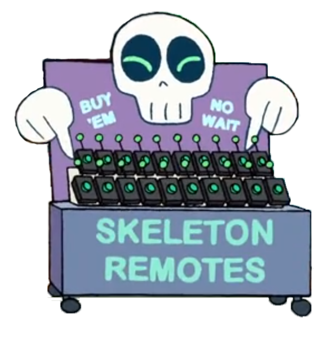 Skeleton Remote (object)