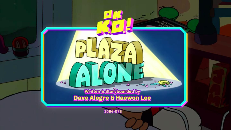 Plaza Alone