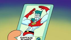 Captain Planet's POW Card