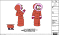 Enid Winter Outfit Model Sheet